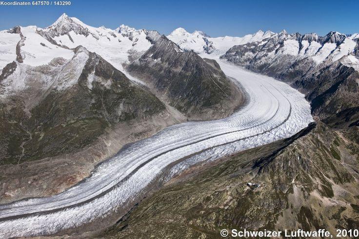 Welterbe-Region Jungfrau-Aletsch – Luftbilder der Schweiz