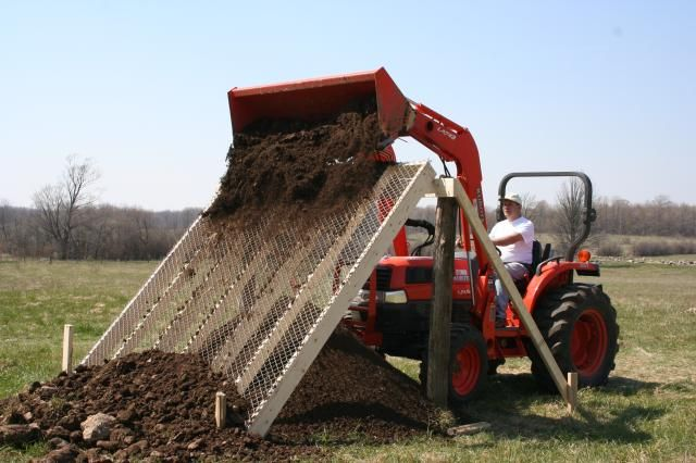 How To Screen Topsoil Need Ideas Rock Screen To Filter