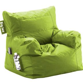 LOVE The Big Joe Bean Bag Chairs  Especially In This Green Color