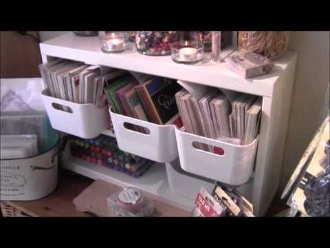 Posh Cat Crafts Part 2 of my Craft Room Tour