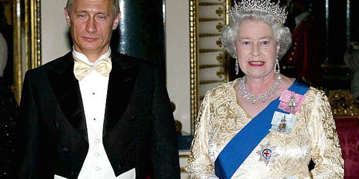Президент Путин говорит, что королева Елизавета является Shapeshifting рептильная