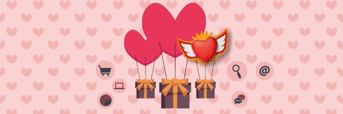 Sevgililer Gününe özel e-posta pazarlama ipuçları ve ücretsiz aşk kartları