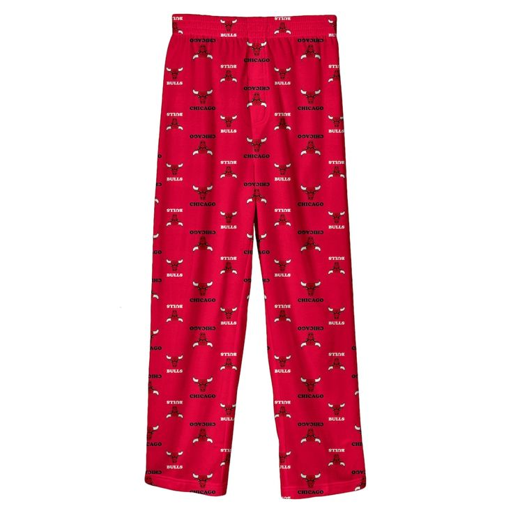 Boys 8-20 Chicago Bulls Team Lounge Pants, Size: XL 18-20, Red