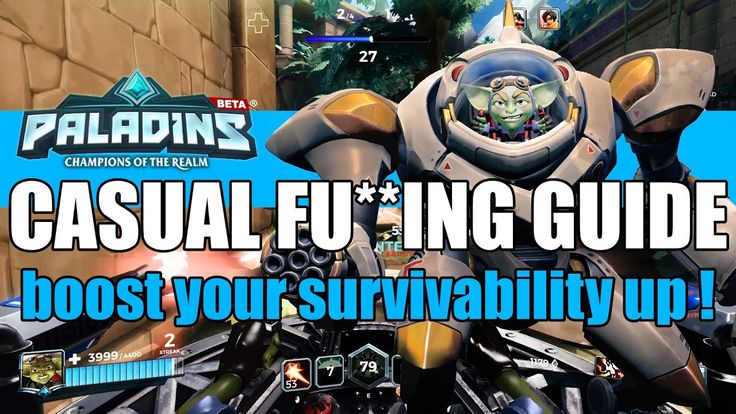 My casual Ruckus guide with just an extra pinch of survivability - Palad...