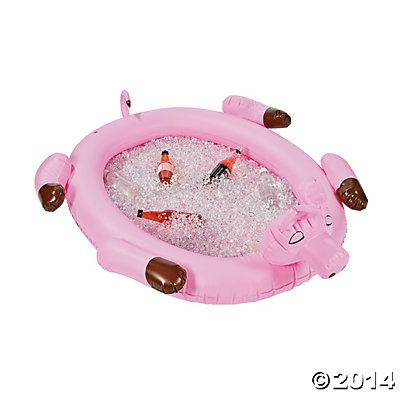 Pig Inflatable Cooler - Oriental Trading