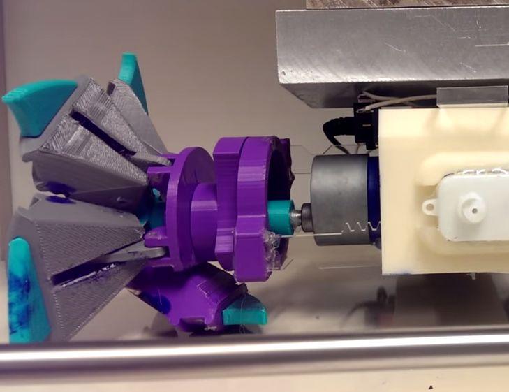 OSU Student Reinvents The Wheel: Robotic 3D printed transforming wheel http://3dprint.com/23604/transforming-robot-wheel/