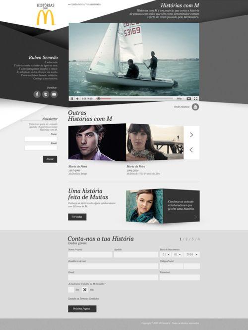 """""""HISTÓRIAS COM M"""" - WEB DESIGN by José Carlos Costa."""