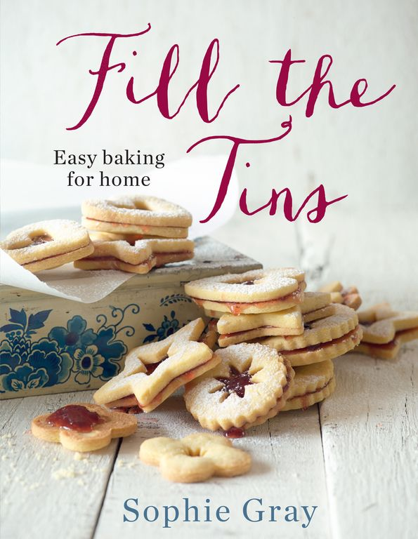 Whitcoulls, Sophie Gray, Fill the Tins, $39.99 This substantial, beautiful baking book gives you all the recipes and tips you need for successful home baking.