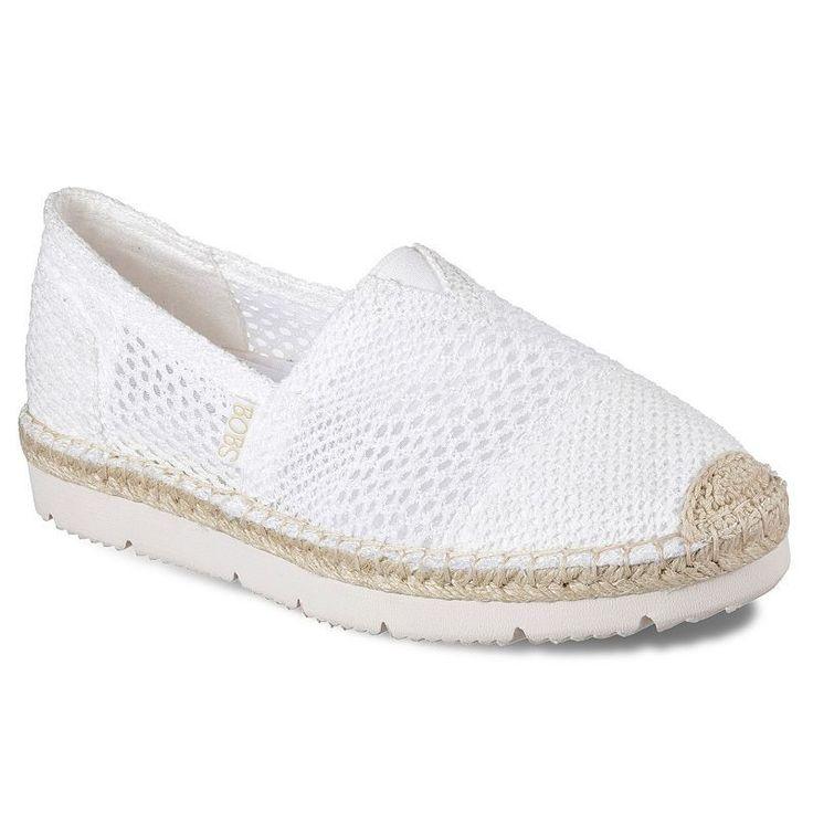 Skechers BOBS Chill Flex Women's Shoes, White