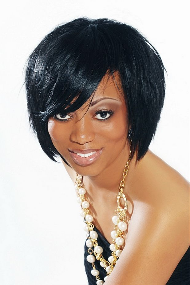 Excellent 1000 Images About Beautiful Black Hair On Pinterest Short Hairstyles For Women Draintrainus