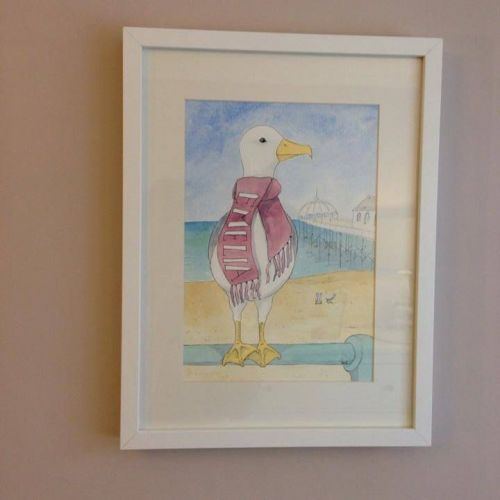 Hand Painted Personalised Watercolour Art For Girls | Personalised Gifts For Children