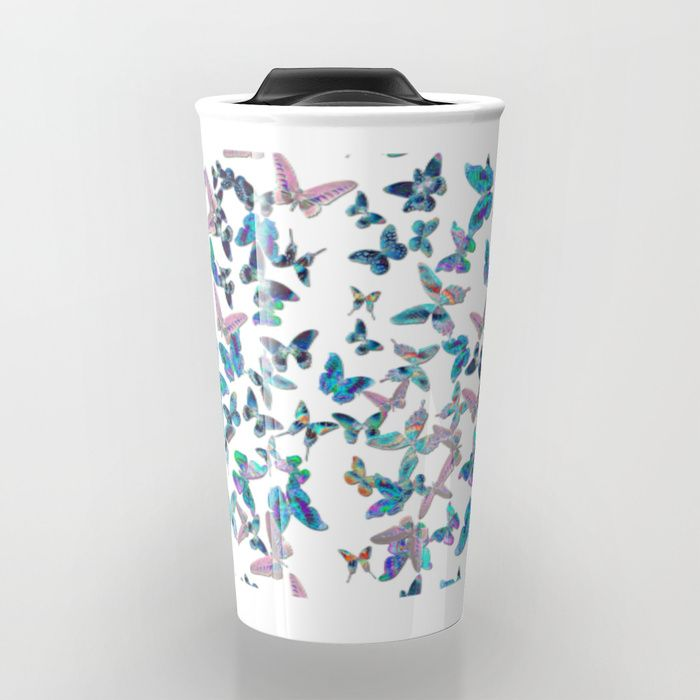 """Take your beverage to go with custom-designed Travel Mugs. Double-walled to keep hot drinks hot and cold drinks cold, with a press-in suction lid to minimize spills. They're the perfect coffee mugs for the people who are always on the move.     - 12oz capacity   - Premium ceramic construction   - Stands just over 6""""    - Wraparound artwork   - Double-walled to keep drinks hot or cold   - Press-in suction lid minimizes leaks and spills"""