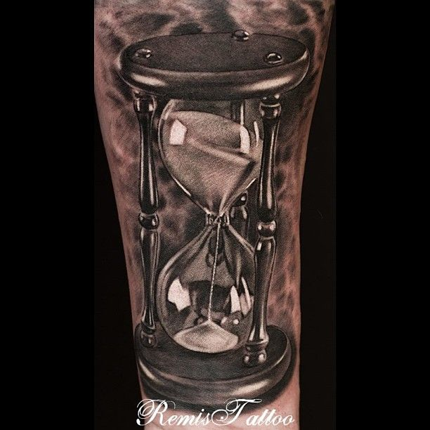 Stunning Hour Glass By Remis Tattoo Dublin Ireland Like