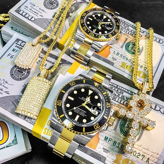 Two Tone Rolex GMT's  on deck and on fleek!  Can you handle it!! Comment below! DM  for pricing! . . . .