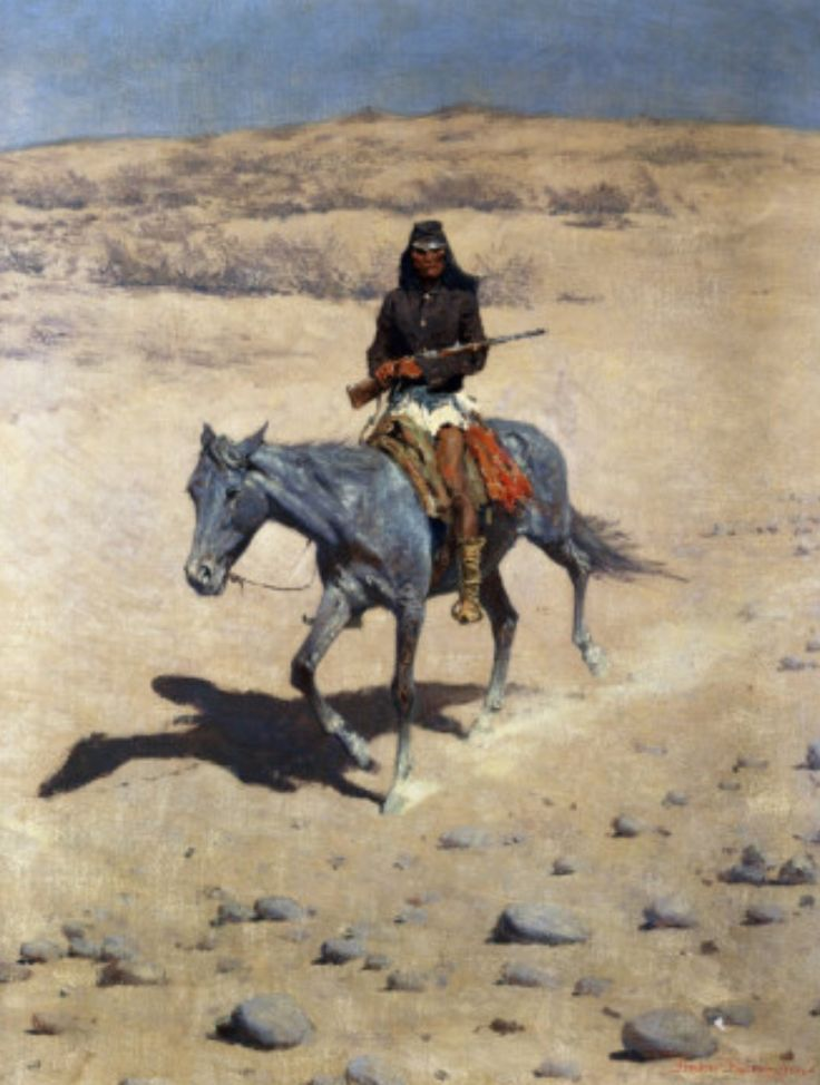 Apache Scout, Frederic Remington