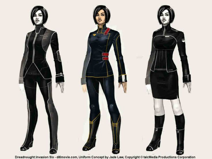 Hunt for New Uniforms, Part I: by Jade Law