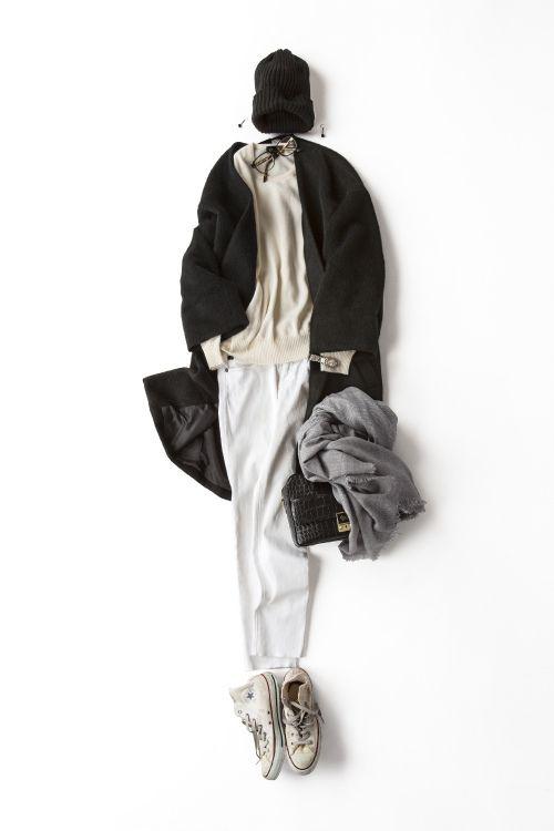 Kyoko Kikuchi's Closet | ラフに着たいブラック&ホワイト