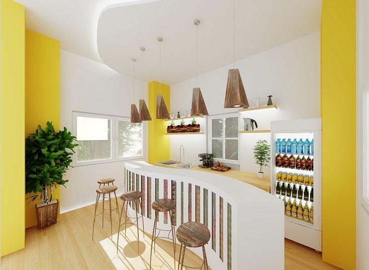 Small Juice Bar Design
