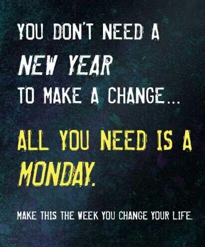 Focus on change