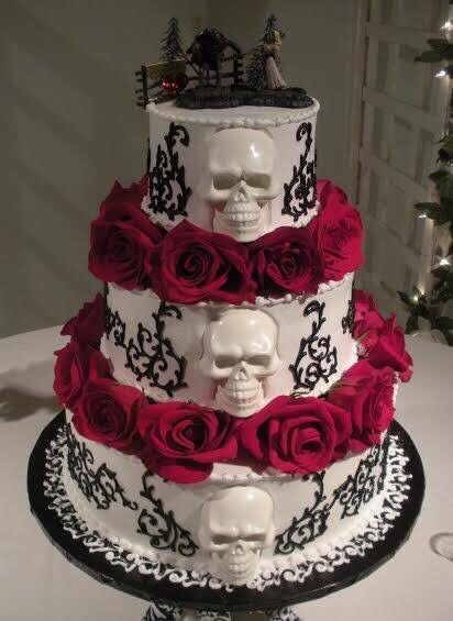 candy skull wedding cake skeletons and cake if i was going to 12352