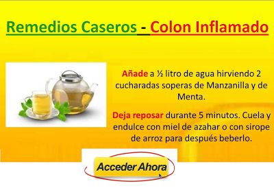 Remedios Caseros Para El Colon Irritable e Inflamado con Gases: Sanar Colon…