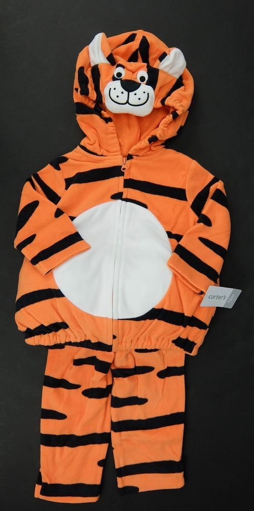 Tiger Halloween Costume Two Piece Carters Size 6-9 Month 12 Month  #Carters #CompleteOutfit
