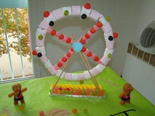 f te foraine en bonbons et voiture cars c 39 est la f te party ideas pinterest bonbon et. Black Bedroom Furniture Sets. Home Design Ideas