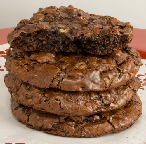 #Chocolate #Brownie #Cookies ~ They taste like miniature brownies with a soft, chewy, fudgy center and a crisp exterior.