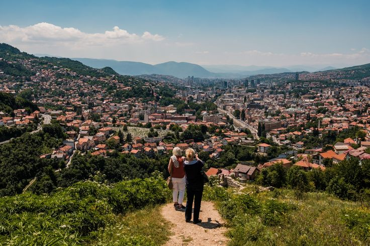 Perspective | Twenty-five years after the siege of Sarajevo, exploring the city's colorful palette
