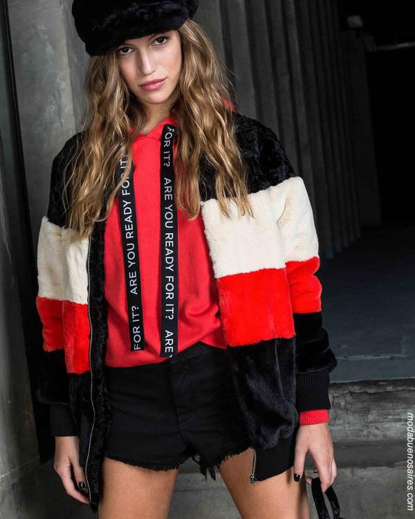 Ropa de moda 2019 mujer juvenil invierno