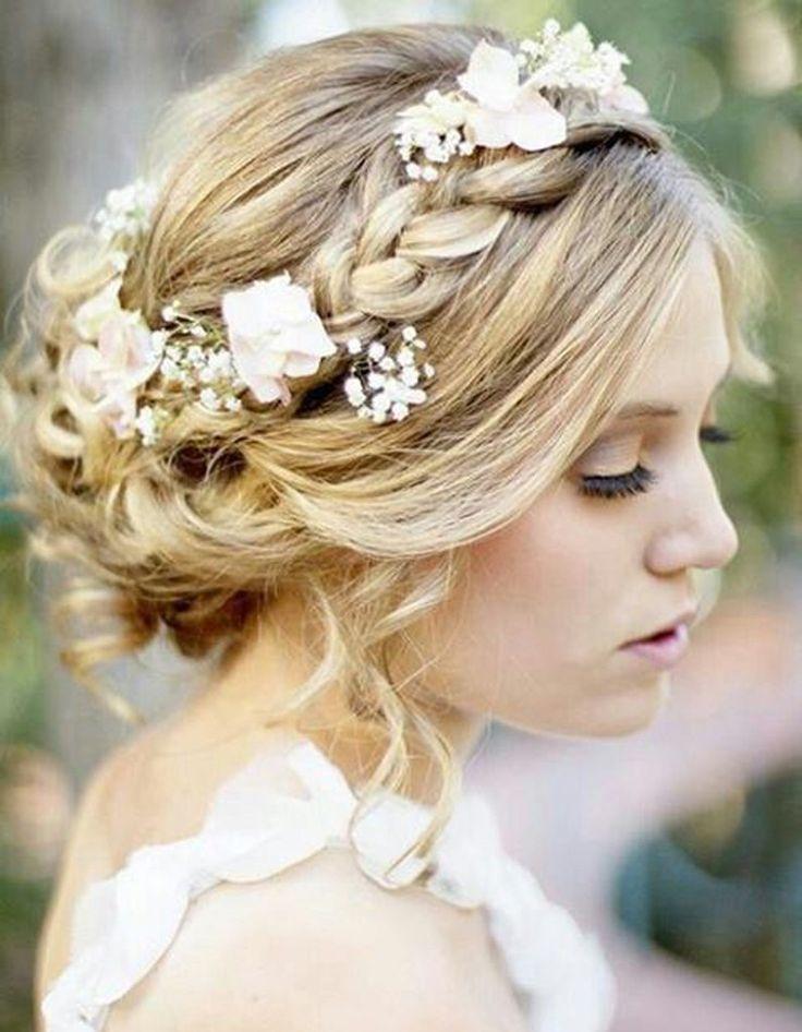Chignon de mariee avec headband