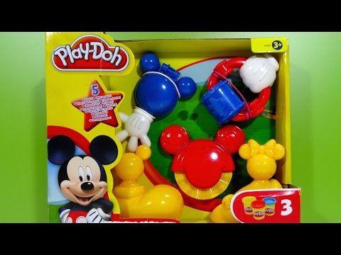 Play-Doh Mickey Mouse Mouskatools Mickey-Herramientas - Juguetes de Mickey Mouse - YouTube