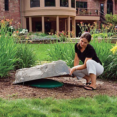 "Jumbo Landscape Rock (36""Lx36""Wx9""H) - Riverbed Brown - Improvements by Improvements. $129.99. Artificial rocks are the perfect solution to cover yard eyesores like pipes or pump equipment. Our natural-looking rocks are durable and can stand up to cold without cracking. Enhance your landscape design with our lightweight artificial rocks. Enhance your landscape design with our lightweight artificial rocks. Artificial rocks are the perfect solution to cover yard eyesores lik..."