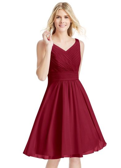 AZAZIE+GRACE - The perfect bridesmaid dress! Looking at the reviews, it looks great on all body types!