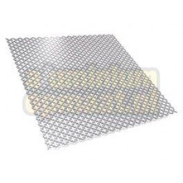 Deze klaverblad deco aluminium plaat is geschikt voor diverse doeleinden waarbij de luchtdoorlatendheid van belang is, bijvoorbeeld roosters en bekleding. Vanwege de speelse perforatie is deze plaat zeer geschikt voor decoratieve doeleinden, maar ook als verwarmingsomlijsting. De alu platen hebben een luchtdoorlatendheid van 39%.