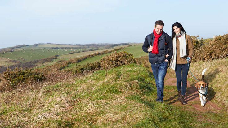 Our top caravan sites for walking | The Caravan Club