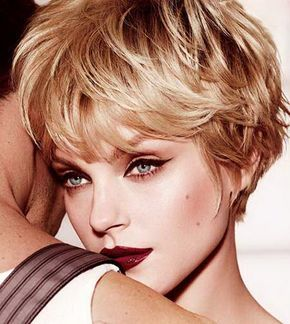 Long Pixie Haircut | The Black Pixie Side-parted Hairstyle with Long Bangs. This hairstyle ...