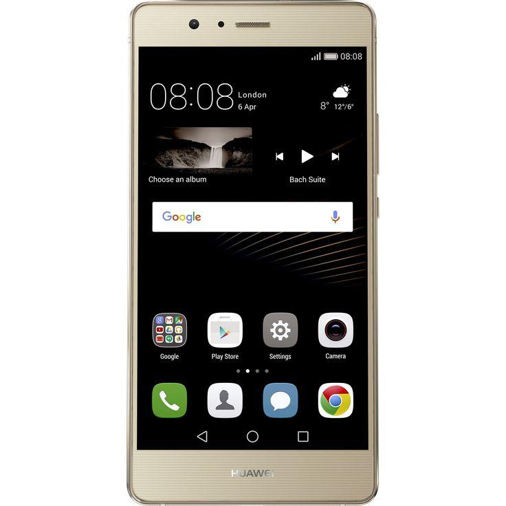 Huawei P9 Lite Mobiltelefon, Kártyafüggetlen, Dual SIM, 16GB, LTE, Arany