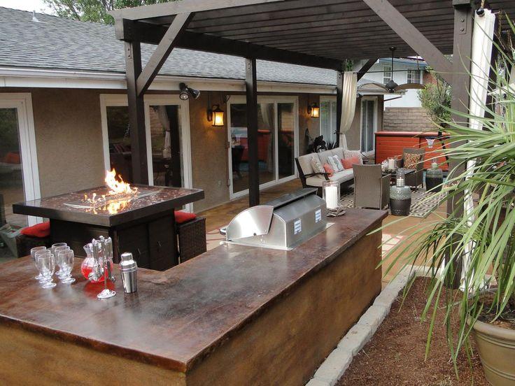 Beautiful Outdoor Kitchen Islands: Pictures, Tips U0026 Expert Ideas. Outdoor BarsSmall Outdoor  PatiosOutdoor ...