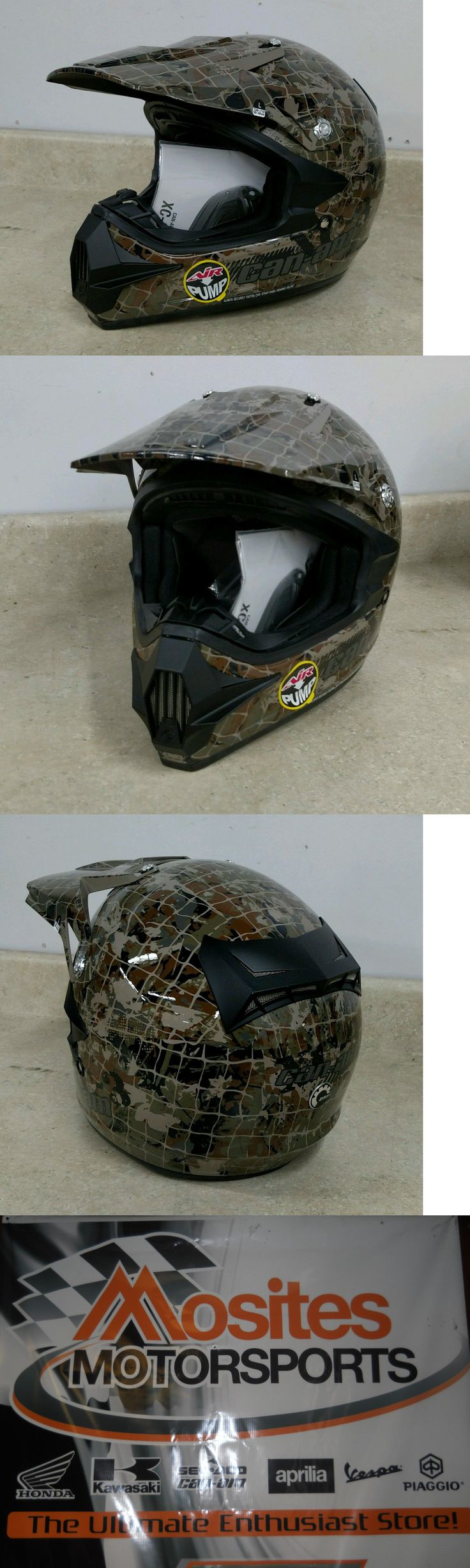 Other Winter Sport Clothing 16060: Can Am Atv Xc-3 Camo Helmet - 4476920937 #4476921237 Free Shipping Sale -> BUY IT NOW ONLY: $68.0 on eBay!
