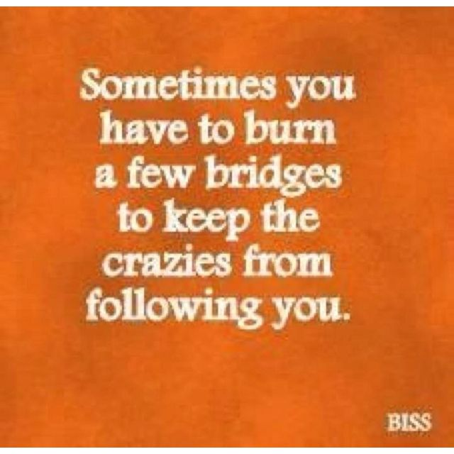 some bridges need to be burned..hahaha: Thoughts, Life, Quote, Truths, So True, Humor, Things, Burning Bridges, Living