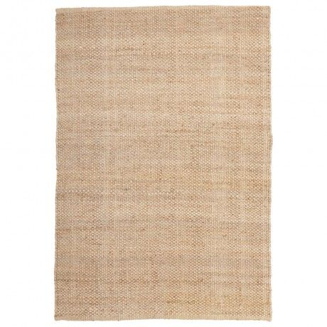 Natural Hemp Rug - White Out - T&W Blended Events 2015