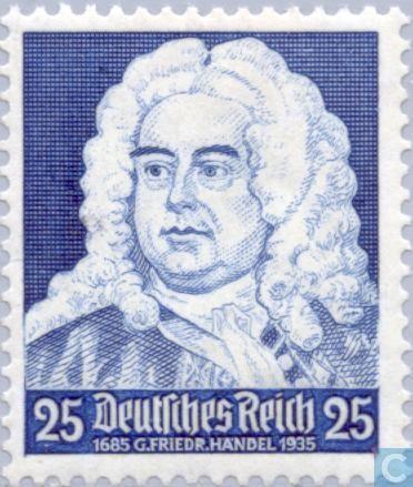 1935 - German Empire - Handel, Georg Friedrich 1685-1759
