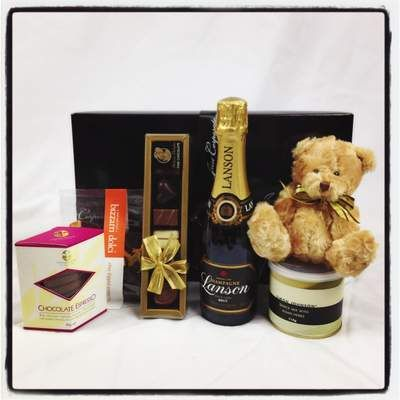 Say Congratulations to a New Baby in style! There's something for everyone including French champagne and a teddy for bubs and it can all be enjoyed in hospital together! A perfect Well done gift for proud parents at $98. Click below to buy now! http://www.justcorporate.net.au/gifts/all-gifts/new-baby-congratulations/