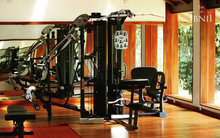 Gym rats! Feel at home even in the midst of wilderness at #TheIbnii_Coorg #ecoluxe #ecoresort #luxuryresort #luxury #workout #gym #gymlife #workoutmotivation #workouts #ecohotel #ecoretreat