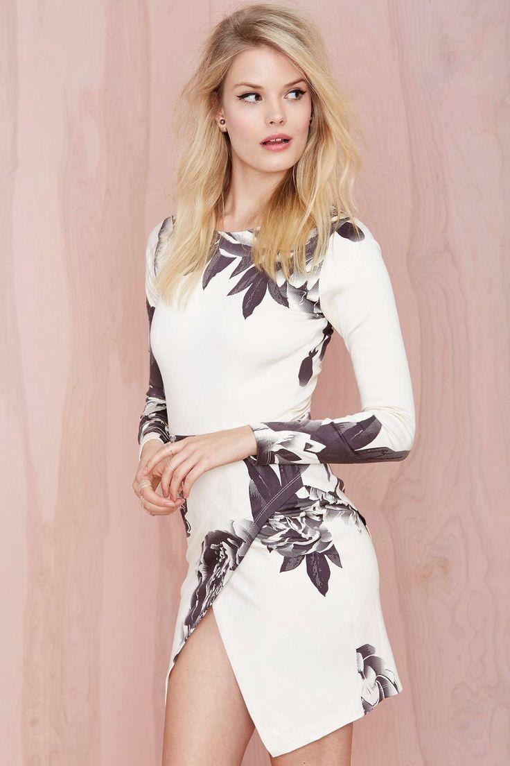 Madison Dress - Dark Bloom | Shop Clothes at Nasty Gal