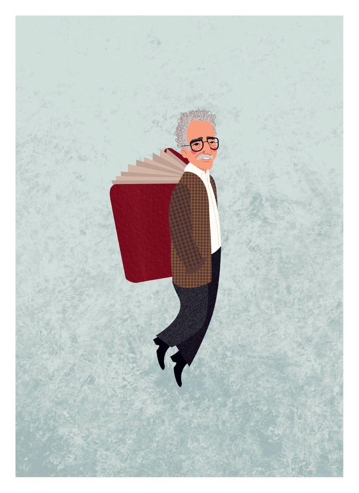 #UnAñoDeSoledad Gabriel Garcia Marquez. Maria Gómez #Gabo