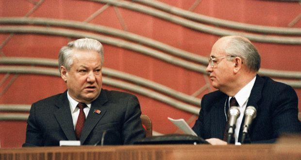 Gorbachev Yeltsin