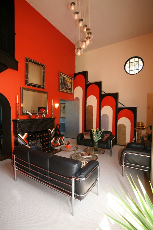 Art Deco Inspired Living Room