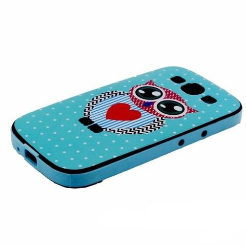 Trendy Owl Silicone Phone Case - Samsung Galaxy S3, S4, S5, S6, Edge
